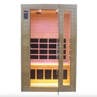 00000902 Sauna Infrarossi Finlandese Gold Eco 120x97 cm